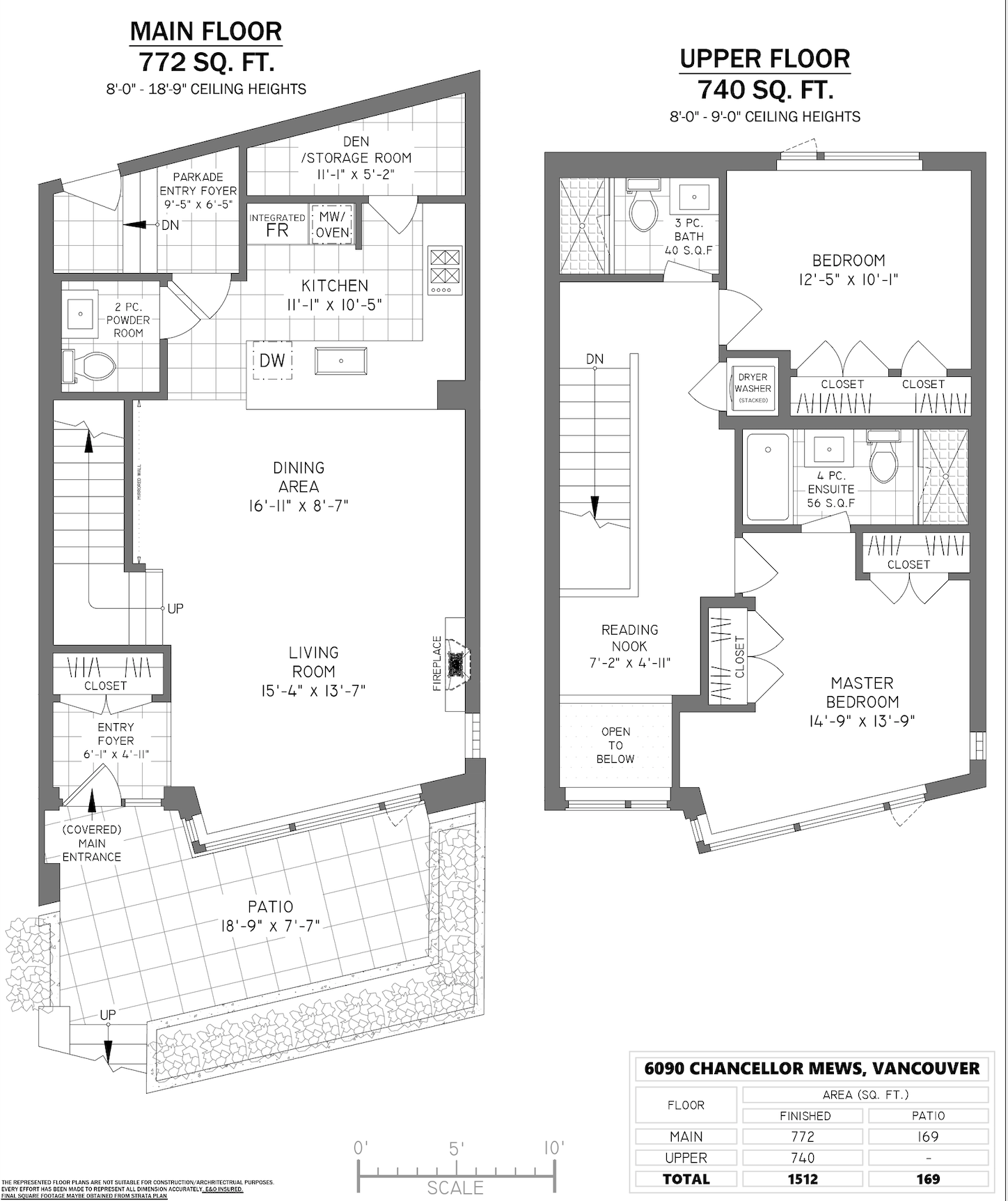 6090 Chancellor Mews - Floor Plan