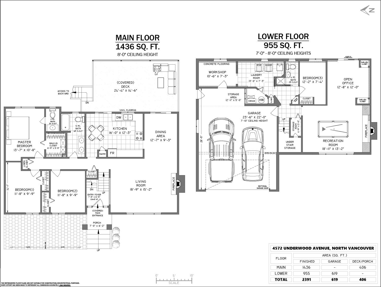 4572 Underwood Ave - Floor Plan