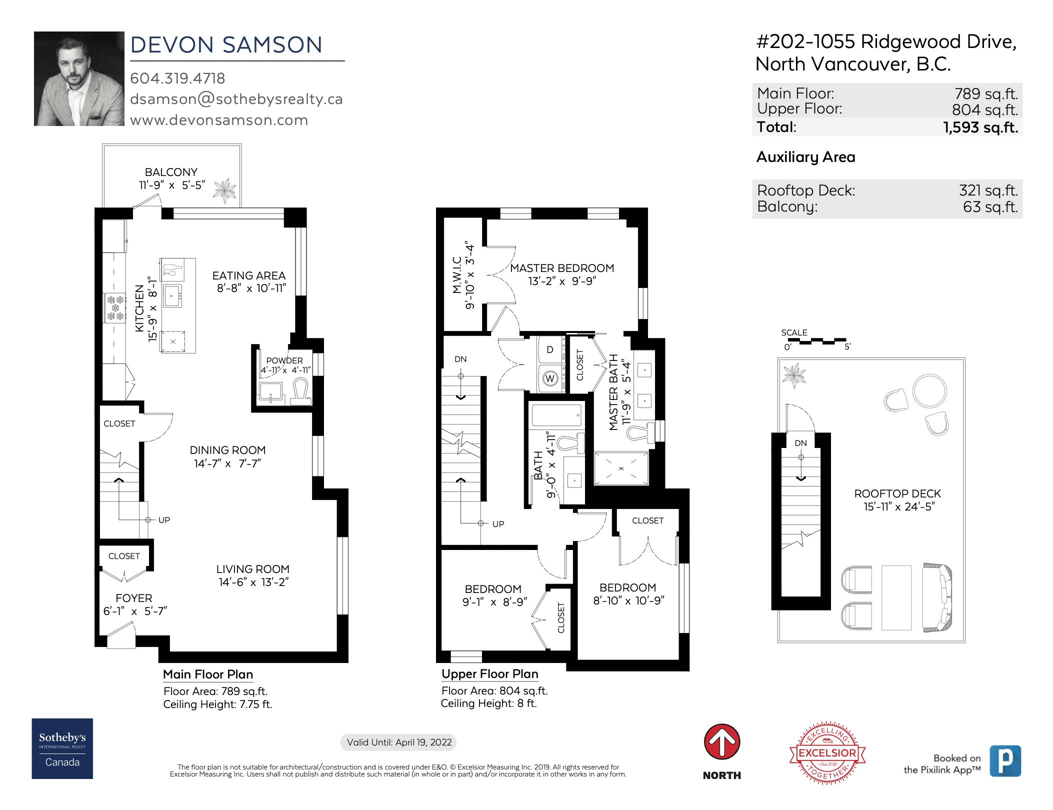 202 1055 Ridgewood Dr - Floor Plan
